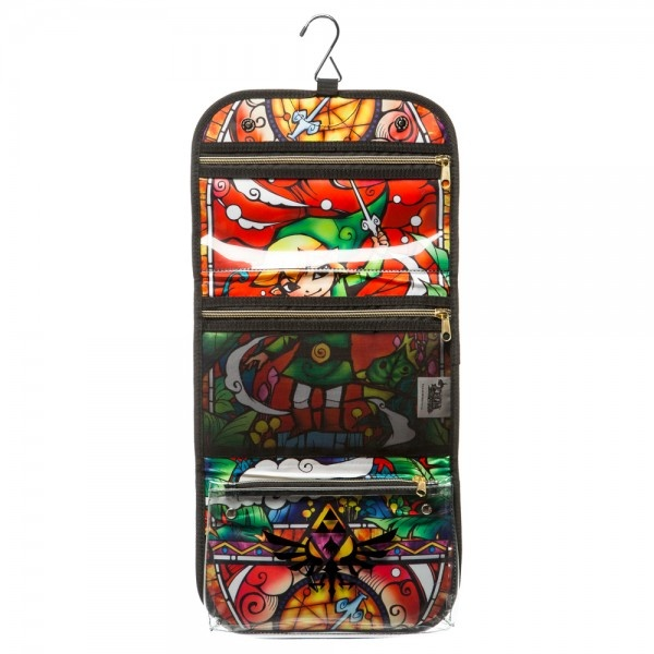 The Legend of Zelda Wind Waker Cosmetic Travel Bag