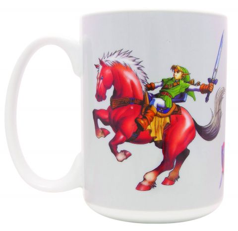 The Legend of Zelda Link on Epona Ceramic Mug