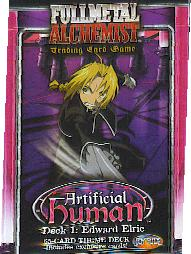Artificial Human TCG Edward Elric Deck