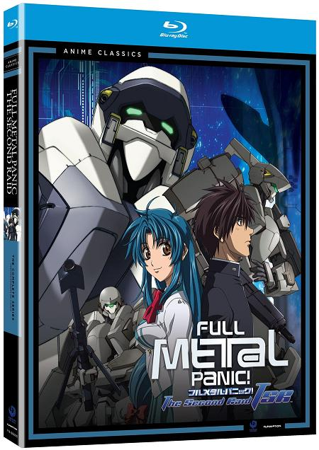 Full Metal Panic! The Second Raid The Complete Series  - Blu-Ray