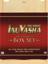 InuYasha The Complete Movie  Box Set Deluxe Edition w/ CD's