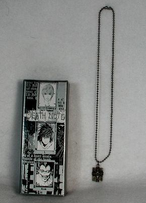 Death Note Book Necklace