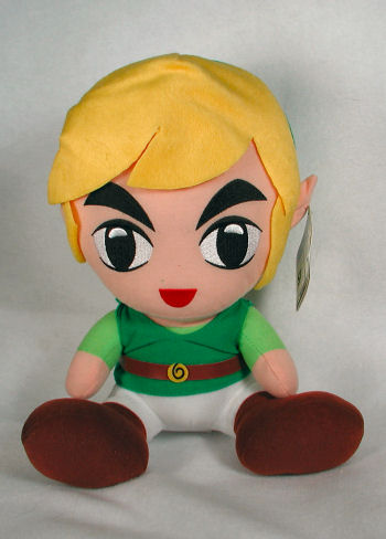 The Legend of Zelda Link Plush