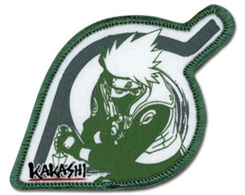 Naruto Kakashi Leaf Village Patch