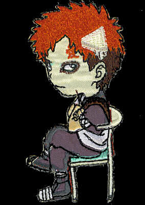 Naruto Sitting Gaara Patch