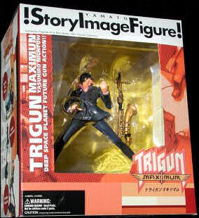 Trigun Midvalley the Hornfreak Story Image Figure