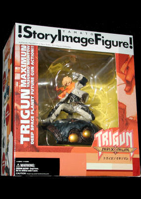 Trigun Zazi the Beast Story Image Figure