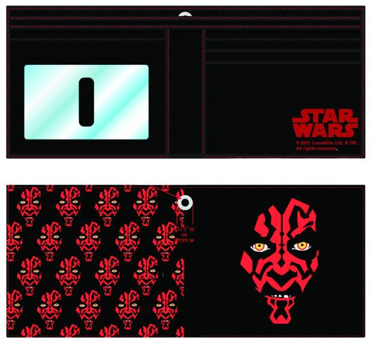 Star Wars Darth Maul Billfold Wallet