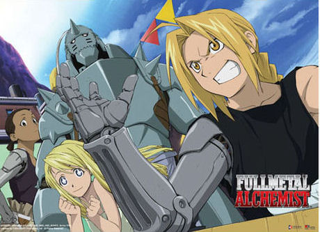 Fullmetal Alchemist Wall Scroll