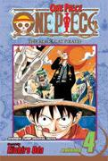 One Piece Vol. 4 The Black Cat Pirates